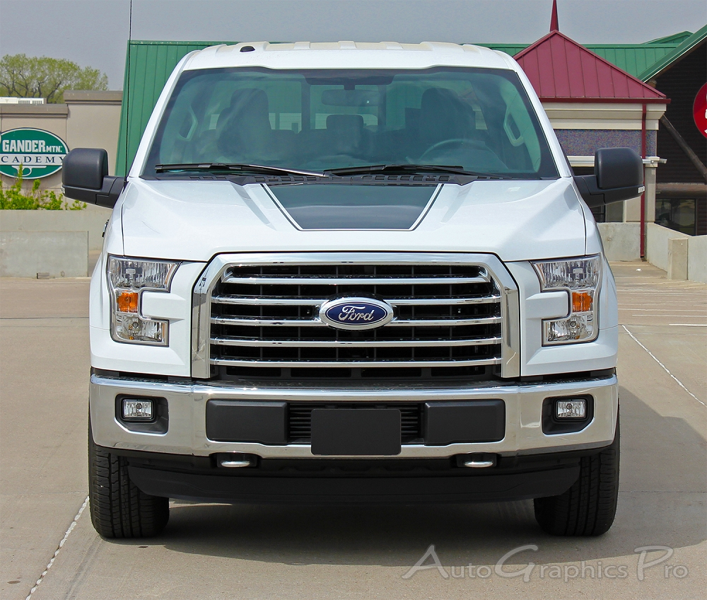2017 2016 2018 2019 Ford F 150 Stripes Force Hood Decals Vinyl Graphic Factory Style Kit