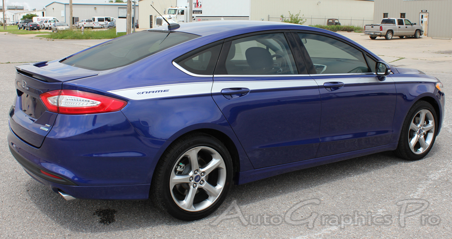 2013 2020 Ford Fusion Stripes Topside Upper Side Doors
