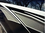 AERO Universal Fit Vinyl Decal Graphic Stripes
