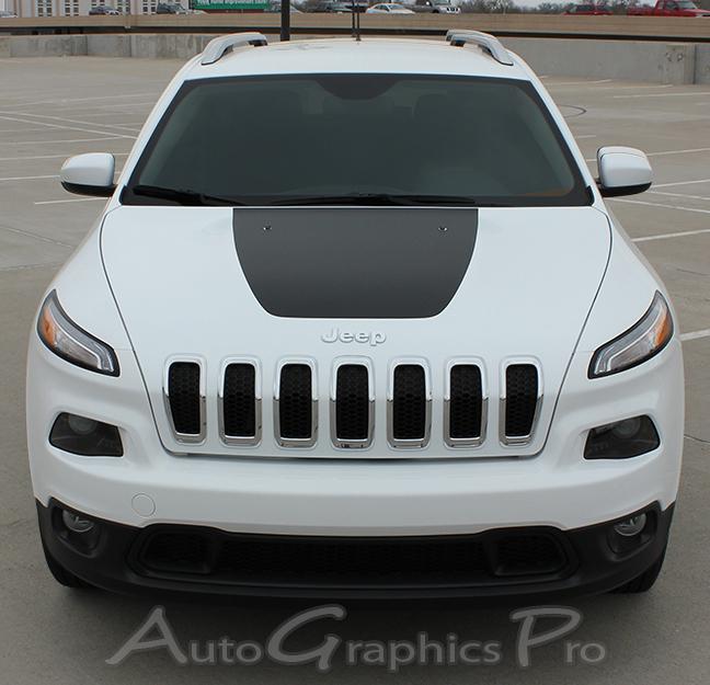 2014 2020 Jeep Cherokee T Hawk Trailhawk Hood Vinyl Decal