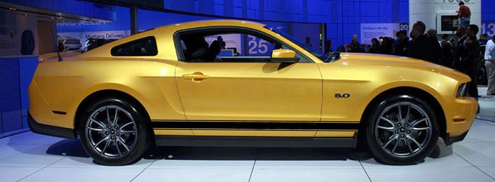 2010 2014 Ford Mustang Quot Wildstang Rocker 2 Quot Factory Oem