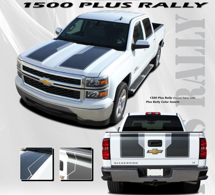 "2014-2015 Chevy Silverado ""1500 RALLY PLUS"" Edition Style ..."