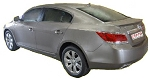Buick LaCrosse : Painted Rear Spoiler Wing fits 2010-2012 Models
