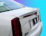 Cadillac STS : Painted Rear Spoiler Wing fits 2008-2010 Models