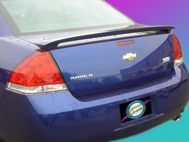 for 2016-2018 CHEVY MALIBU PRE-PAINTED ANY COLOR Custom-Style Rear Spoiler New