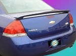 Chevy Impala LS LT LTZ SS : Painted Rear Spoiler Wing fits 2006-2011 Models