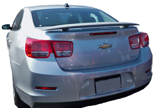 Chevy Malibu Painted Rear Spoiler Wing Fits 2013 Models