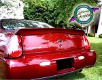 Chevy Monte Carlo : Painted Rear Spoiler Wing fits 2000-2005 Models
