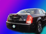 Chrysler 300 : Painted Rear Spoiler Wing fits 2008-2011 Models