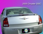 Chrysler 300 : Painted Rear Spoiler Wing fits 2005-2007 Models