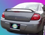Dodge Neon : Painted Rear Spoiler Wing fits 2000-2005 Models
