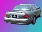 Ford Crown Victoria : Painted Rear Spoiler Wing fits 1998-2008 Models
