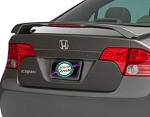Honda Civic (4 Door) : Painted Rear Spoiler Wing fits 2006-2010 Models