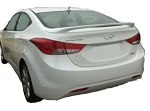 Hyundai Elantra : Painted Rear Spoiler Wing fits 2012-2013 Models