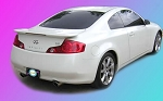 Infiniti G35 (2 Door) : Painted Rear Spoiler Wing fits 2003-2007 Models