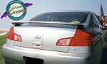 Infiniti G35 (4 Door) : Painted Rear Spoiler Wing fits 2003-2006 Models