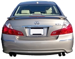 Infiniti M35X : Painted Rear Spoiler Wing fits 2013-2014 Models