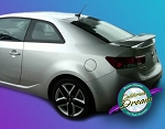 Kia Forte : Painted Rear Spoiler Wing fits 2010-2013 Models