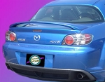 Mazda RX8 : Painted Rear Spoiler Wing fits 2003 - 2009 Models