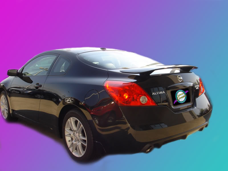 Nissan Altima : Painted Rear Spoiler Wing fits 2008 - 2012 ...