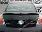 Nissan Altima : Painted Rear Spoiler Wing fits 2002 - 2006 Models