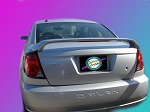 Saturn Ion (Quad Coupe) : Painted Rear Spoiler Wing fits 2003 - 2008 Models