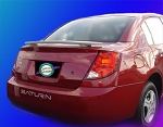 Saturn Ion (4 Door) : Painted Rear Spoiler Wing fits 2003 - 2008 Models