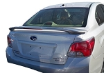 Subaru Imprezza : Painted Rear Spoiler Wing fits 2013 Models