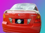 Suzuki Aerio : Painted Rear Spoiler Wing fits 2003 - 2008 Models