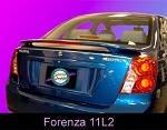 Suzuki Forneza : Painted Rear Spoiler Wing fits 2004 - 2009 Models