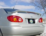 Toyota Corolla : Painted Rear Spoiler Wing fits 2003 - 2008 Models