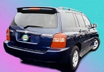 Toyota Highlander : Painted Rear Spoiler Wing fits 2001 - 2007 Models