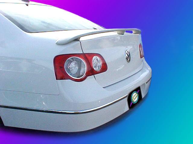Volkswagen Passat Painted Rear Spoiler Wing Fits 2006