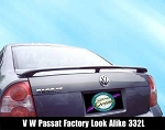 Volkswagen Passat : Painted Rear Spoiler Wing fits 1998 - 2005 Models