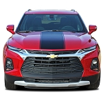 2019-2021 Chevy Blazer Hood Graphics HOT STREAK Hood Decal Vinyl Graphics Kit
