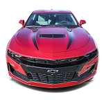 2019 2020 Chevy Camaro Hood Spears Decals WIDOW Spider Hood Stripes Vinyl Graphics Kit