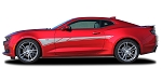 2019 Chevy Camaro Door Decal BACKLASH Side Body Stripes Decals Vinyl Graphics Kit