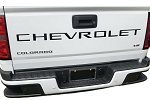 2021 Chevy Colorado Rear Tailgate Letter Text Decals Vinyl Graphics Accent Blackout Stripes Kit