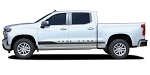 2019 2020 2021 Chevy Silverado Stripes ROCKER ONE Door Decals Lower Rocker Panel 3M Vinyl Graphics Kit 2021