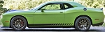STROBE ROCKERS Dodge Challenger Lower Rocker Panel Body Line Door Rally Accent Vinyl Stripes Decal Graphics Kit