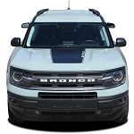 2021 2022 Ford Bronco Sport Stripes Hood Decals RIDER Hood Vinyl Graphic Accent Kits
