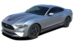 2018 2019 2020 2021 Ford Mustang Mach 1 Racing Stripes SUPERSONIC DIGITAL Vinyl Graphics Wide Hood Decals Kit