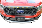 2019 2020 Ford Ranger GRILL Decal Letters Text Stripes Vinyl Graphic Accent Kit