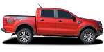 2019 2020 Ford Ranger Stripes Bed Decals GUARDIAN Side Body Vinyl Graphic Accent Kits