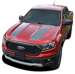 2019 2020 Ford Ranger Hood Stripes NOMAD HOOD Decals Vinyl Graphics Kits