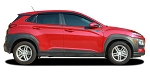 2018-2021 Hyundai Kona Decals BOLT Stripe Upper Body Door Vinyl Graphics Kit