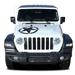 2018 2019 2020 Jeep Wrangler JL LEGEND STAR HOOD Vinyl Decal Graphic Stripes Unlimited