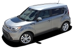 2014-2019 Kia Soul SOUL PATCH Factory Style Hood and Side Vinyl Graphics Kit