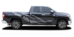 2014-2021 Toyota Tundra Vinyl Graphics FRENZY Side Body Decals and Stripes 3M Vinyl Graphic Kit