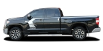 2014-2021 Toyota Tundra Stripes TEMPEST Side Door Upper Body Accent Stripe 3M Vinyl Graphics Kit